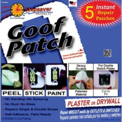 Step Saver Instant Repairs Goof Patch Repair Patches for Outlet and Switch Repairs, Smooth Surface