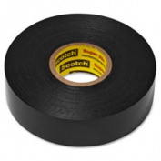 3M MMM6132BA10 Super 33 Plus Vinyl Electrical Scotch Tape, 10RL-CT, Black