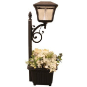 Gama Sonic GS-111PL Plantern LED Path and Garden Light With Planter