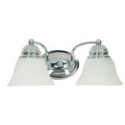 Nuvo Lighting 60/337 Two Light Reversible Lighting 38cm Wide Bathroom Fixture
