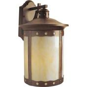 Forte Lighting 10031-01 Country / Rustic Energy Efficient Fluorescent Outdoor Wa