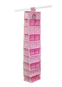 Disney Sofia the First 10-Tier Hanging Organiser, Purple