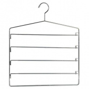 Richards Homewares Gel Grip Non-Slip Swing Arm Trouser Hanger