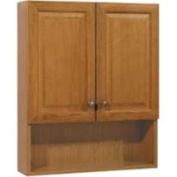 Rsi Home Products 270134 Oak 60cm Bath Storage Cabinet
