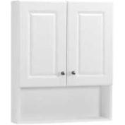 Rsi Home Products 270133 White 60cm Bath Storage Cab