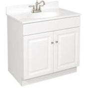Design House 100901 30X21 White Vanity 2 Door