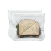 Blue Avocado 1582121 Blue Avocado (Re) Zip Seal Lunch Bag - Translucent