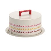 Cake Boss Serveware Metal Cake Carrier, Icing