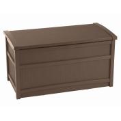 Suncast 189.3l Mocha Resin Deck Box DB5000B
