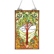 Olea Of Life Glass Window Panel
