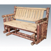 Montana Woodworks MWGCLGNR Glider Exterior Glacier Country Finish