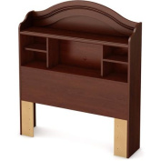 South Shore Summer Breeze Twin Bookcase Headboard, 100cm , Multiple Finishes