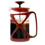 Primula Tempo 6-Cup Coffee Press, Red