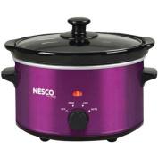 Nesco SC-150V 1.4l Oval Slow Cooker, Metallic Purple
