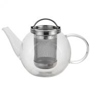 BonJour Coffee and Tea 1040ml Harmony Glass Teapot