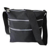 Premium Connexion 290-CBMF Roberto Amee Microfiber Cross Body Bag