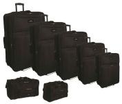 7-Pc Luggage Set in Black