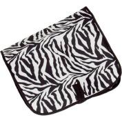 Household Essentials Hanging Travel Cosmetic Bag Zebra Print