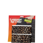 Luggage Spotters Designer Cheetah Luggage Spotter