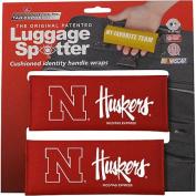 Luggage Spotters NCAA Nebraska Corn Huskers Luggage Spotter