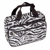Household Essentials Double Sided Travel Kit Zebra Print