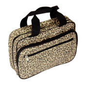 Household Essentials Double Sided Travel Kit Leopard Print