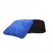 Premium Connexion 290-ZBBL TrailWorthy Coral Fleece Zip Up Pillow Blanket