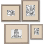 Gallery Frames, Set of 4, Silver