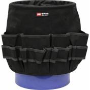 McGuire-Nicholas 54-Pocket Bucket Tool Organiser, Black