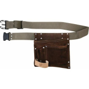 McGuire-Nicholas Handyman Tool Pouch with Belt Suede Leather
