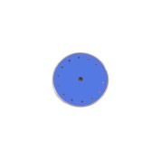 Diamond Products Limited 80016 10X.060X5/8Blue Dry Tile Blade Tile Star Blue Each