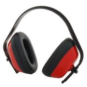 Zen-Tek EM101 Standard Ear Muffs Red/Black