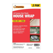 Frost King All-Purpose Clear Plastic House Wrap
