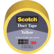 3M 1005-YLW-IP Scotch Coloured Duct Tape-SCOTCH YELLOW DUCT TAPE