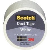 3M 1005-WHT-IP Scotch Coloured Duct Tape-SCOTCH WHITE DUCT TAPE