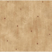 Brewster Home Fashions Borders by Chesapeake Dusty Heritage Star Toss Polka Dot Wallpaper