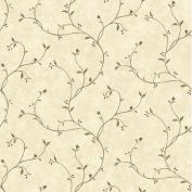Brewster Home Fashions Borders by Chesapeake Gemma Tin Star Trail Scroll Wallpaper
