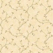 Brewster Home Fashions Pure Country Gwen Tin Star Trail Scroll Wallpaper