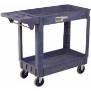 WEN 80cm 2 Shelf Service Cart