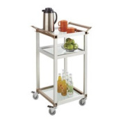 Safco Products Company 90cm Small Refreshment Cart