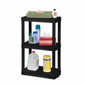 Plano 9533 30cm X 50cm 3-Shelf Unit, Black