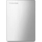 Toshiba Canvio Slim II 1TB Portable External Hard Drive for Mac, Silver