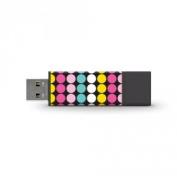Centon Electronics DSPTM8GB-POP Macbeth Soda Pop Dots USB PRO2 Drive 8GB Multi 8GB Multi