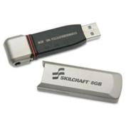 Skilcraft NSN5999347 USB Flash Drive, 4GB, Level 3