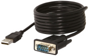 Sabrent USB 2.0 to Serial (9-pin) DB-9 RS-232 Adapter Cable and 1.8m Cable