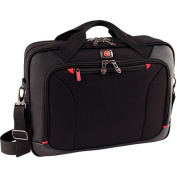 SwissGear Highwire 43cm Deluxe Laptop Briefcase with Tablet/eReader Pocket