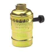 Leviton 7070PG Turn-Knob Lamp Socket-2-CIRCUIT SOCKET