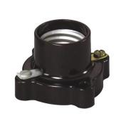 Leviton 9063 Cleat-Type Lampholder Socket-PHENOLIC LAMPHOLDER