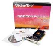 VisionTek Radeon R7 240 2GB DDR3 PCIe Graphics Card