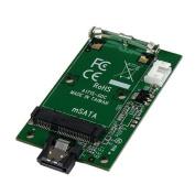 StarTech SATA to mSATA SSD Adapter Port Mounted SATA to Mini SATA Converter Card